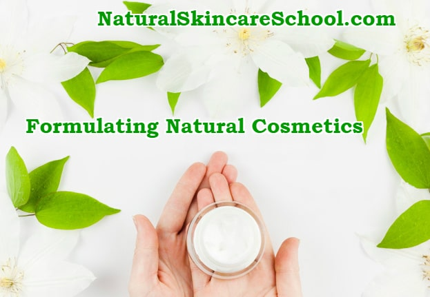 formulating natural cosmetics
