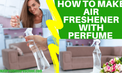 how to make air refreshener with perfume
