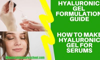 how to make hyaluronic acid gel serum
