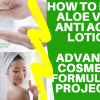 how to make anti aging lotion to sell