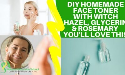 how to make face toner at home