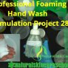 how to make hand wash with glycerin essential oil
