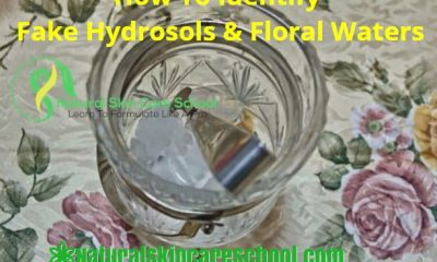 how to identify fake hydrosols floral water