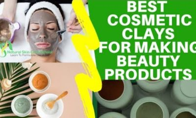 best cosmetic clays exfoliants