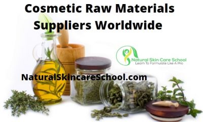 cosmetic raw materials suppliers worldwide