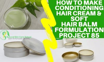 how to make hair cream to sell