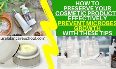 how to preserve cosmetic products effectively