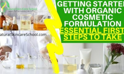introduction to organic cosmetic formulation