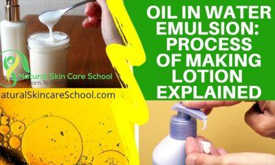 oil in water emulsion explained