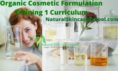 organic cosmetic formulation training courses