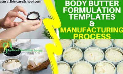 body butter formulation template