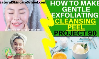 exfoliating cleansing peel recipe