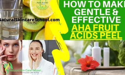 how to make aha fruit acids peel recipe