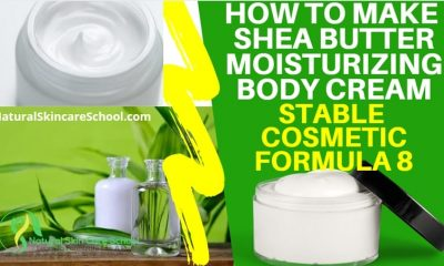 how to make shea butter body cream