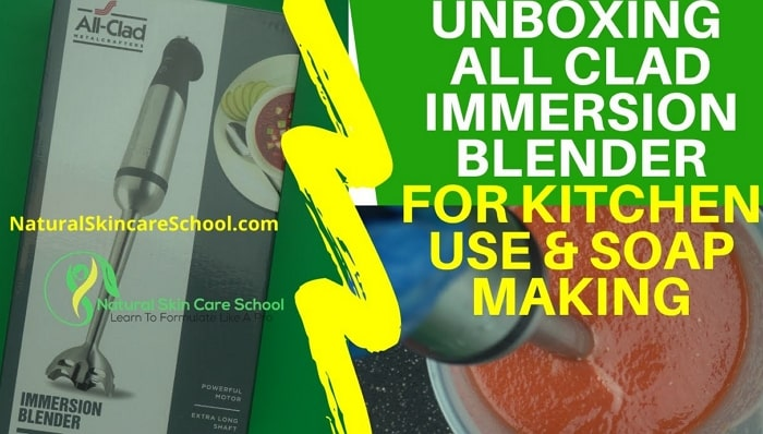 best immersion blender for lotion making