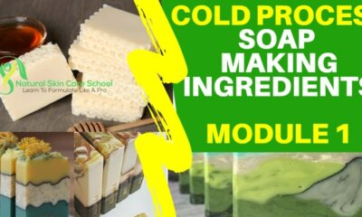 cold process soap making ingredients