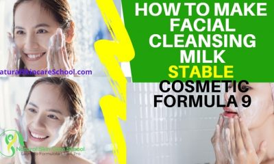 how to make facial cleansing milk
