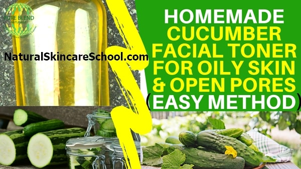 homemade cucumber toner